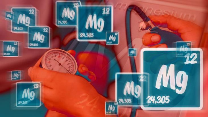 Magnez obniża ciśnienie krwi