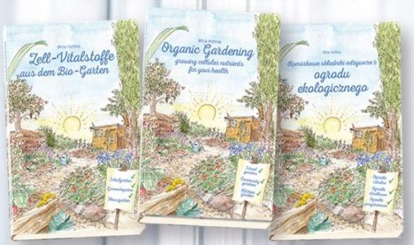 Komórkowe składniki odżywcze z ogrodu ekologicznego